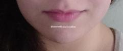 My bare lips